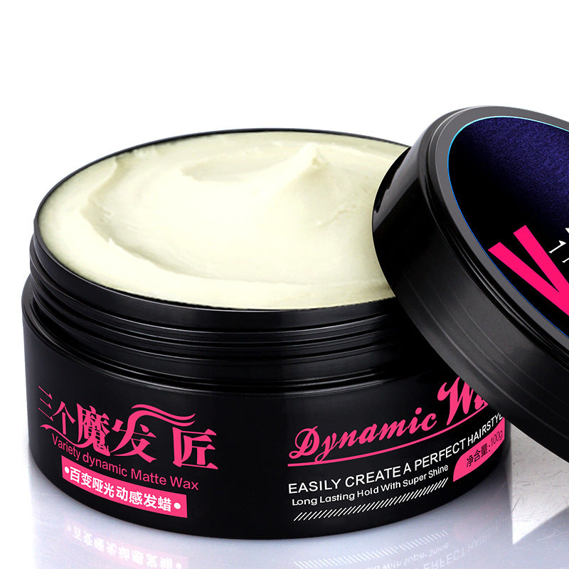 Professional Men Matte Hair Wax Cream
