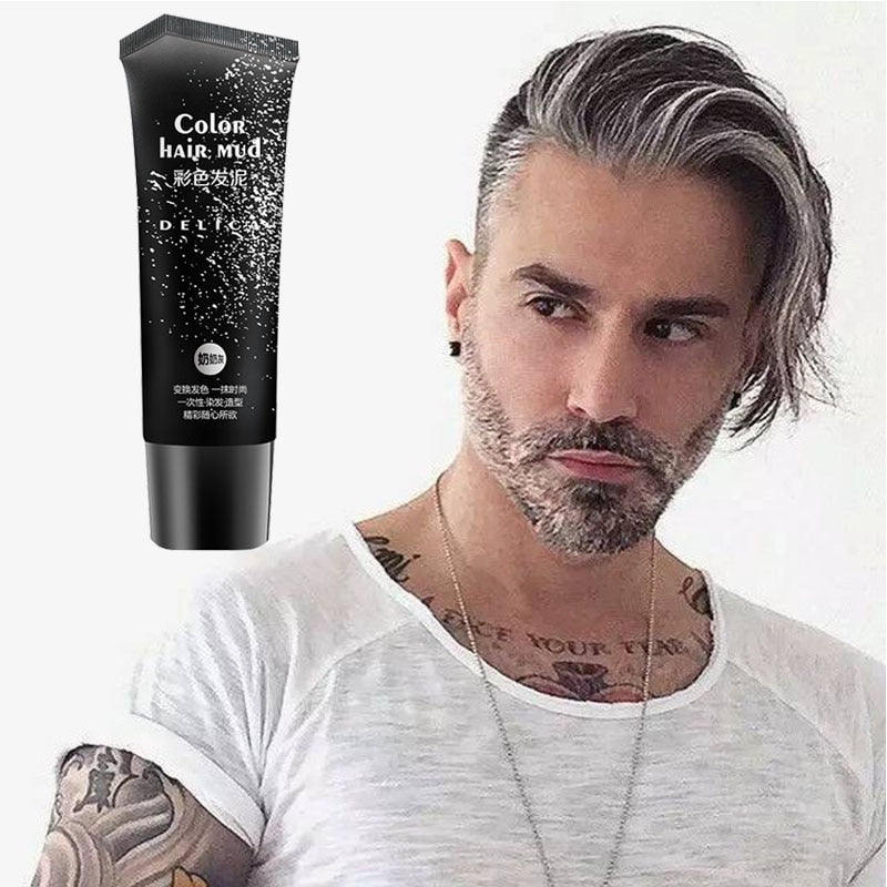 50ml Silver Gray Disposable Hair Color