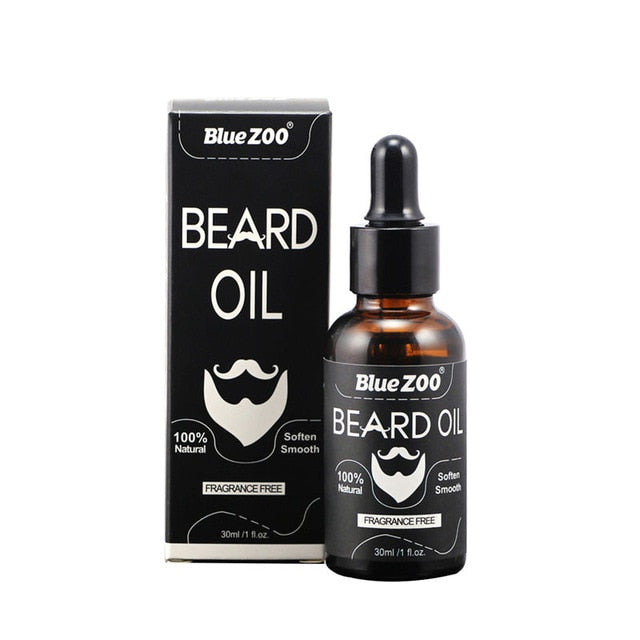 Men Moustache Beard Oil