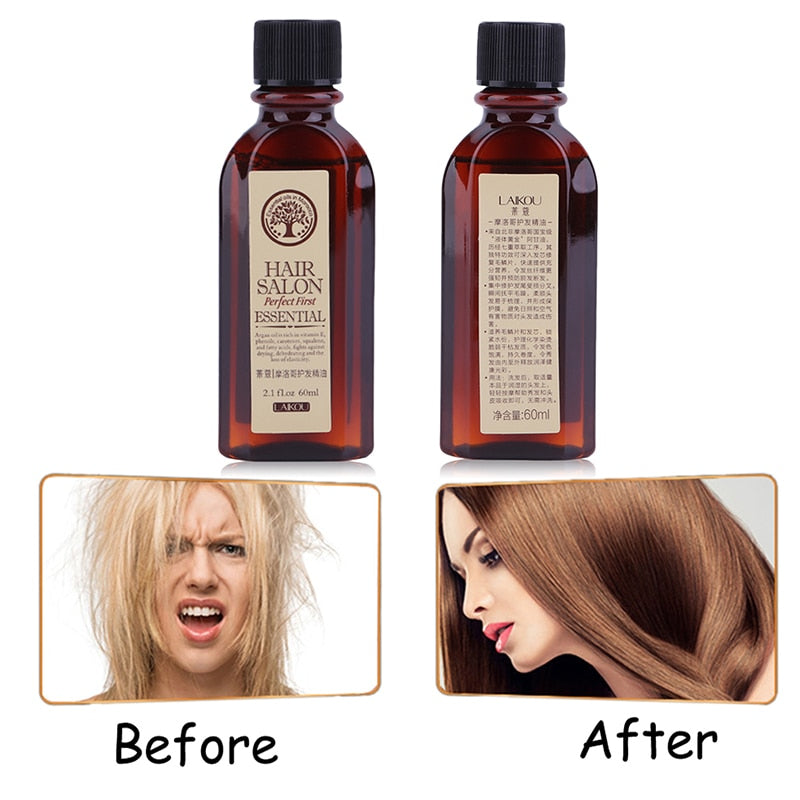 60ml Hair Care Moroccan Pure Argan Oil