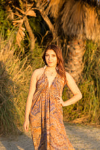 Load image into Gallery viewer, Muy Maxi Cotton Dress in Sand