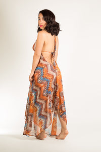 Muy Maxi Dress in Sunset