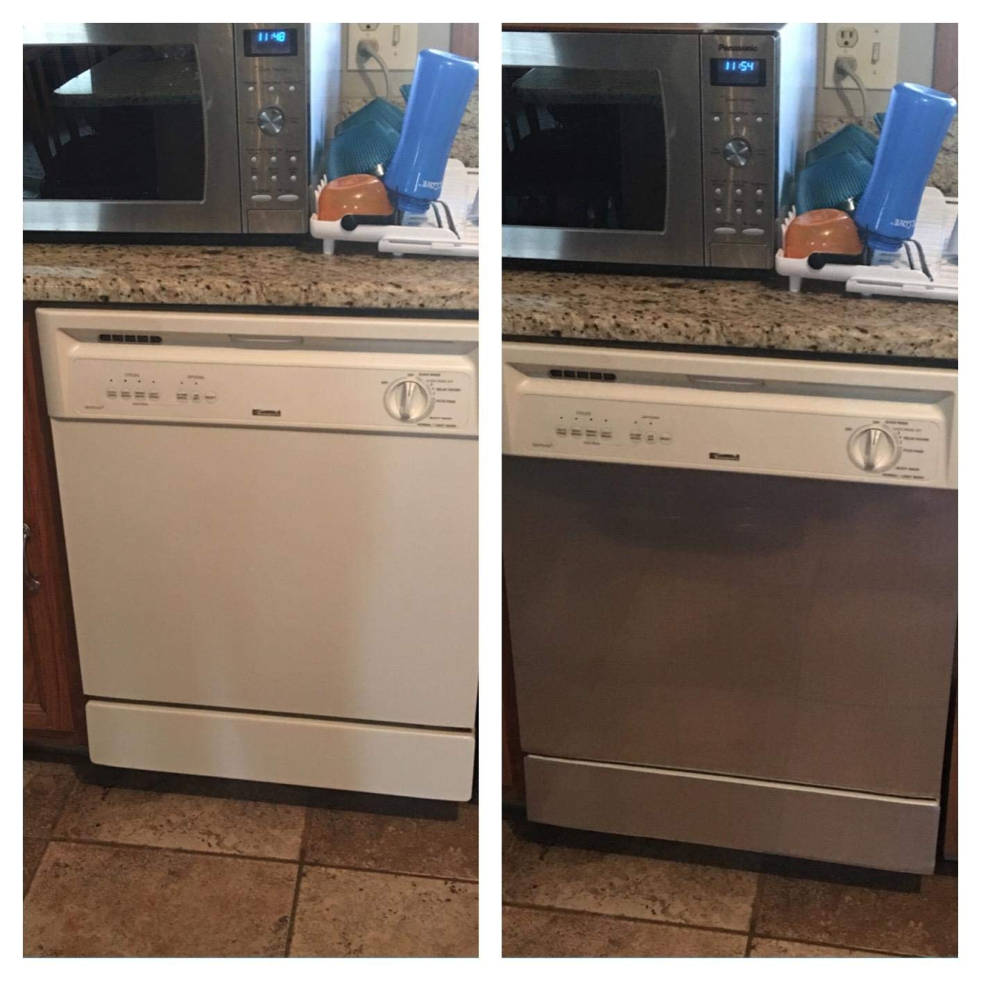 "Instant Stainless® Dishwasher Cover 23.5"" wide by 26"" tall"