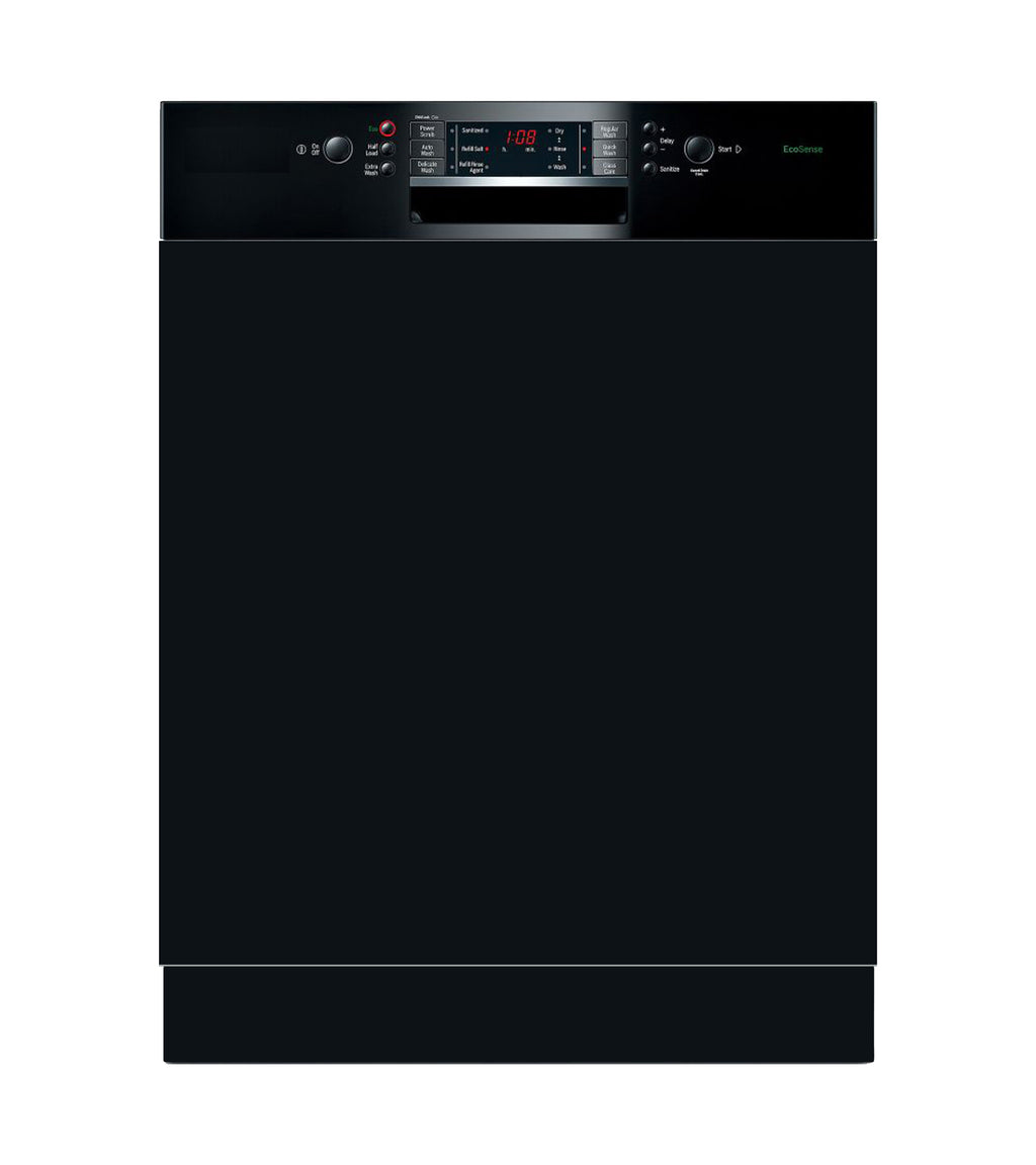 Black Appliance Cover