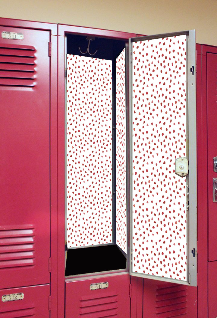 Petals - Back to School Deluxe Magnetic Locker Wallpaper