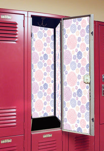Starburst - Back to School Deluxe Magnetic Locker Wallpaper