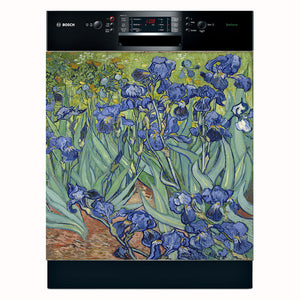 Irises, by Vincent van Gogh