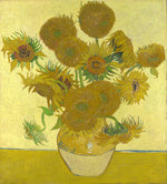 "Sunflowers, by Vincent Van Gogh | Appliance Art Magnetic Dishwasher Covers | 23.5"" by 26"" 