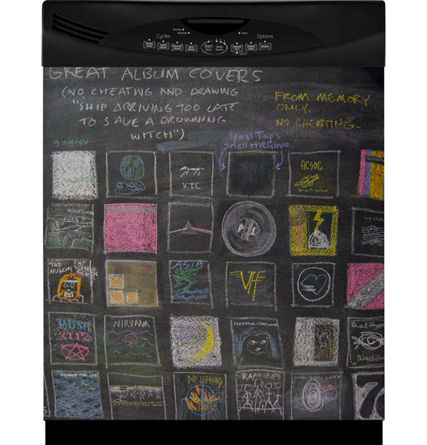 APPLIANCE ART's Chalkboard Appliance Cover