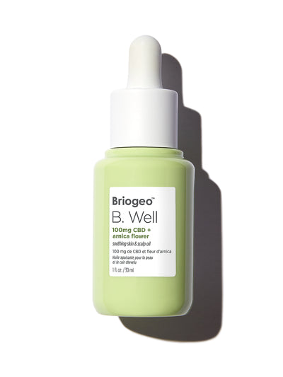 B. Well 100mg CBD + Arnica Flower  Soothing Skin & Scalp Oil