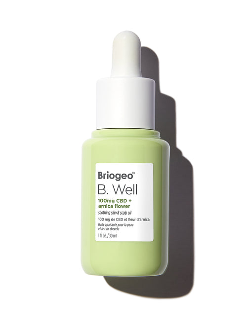 B. Well 100mg CBD + Arnica Flower  Soothing Skin & Scalp Oil Image