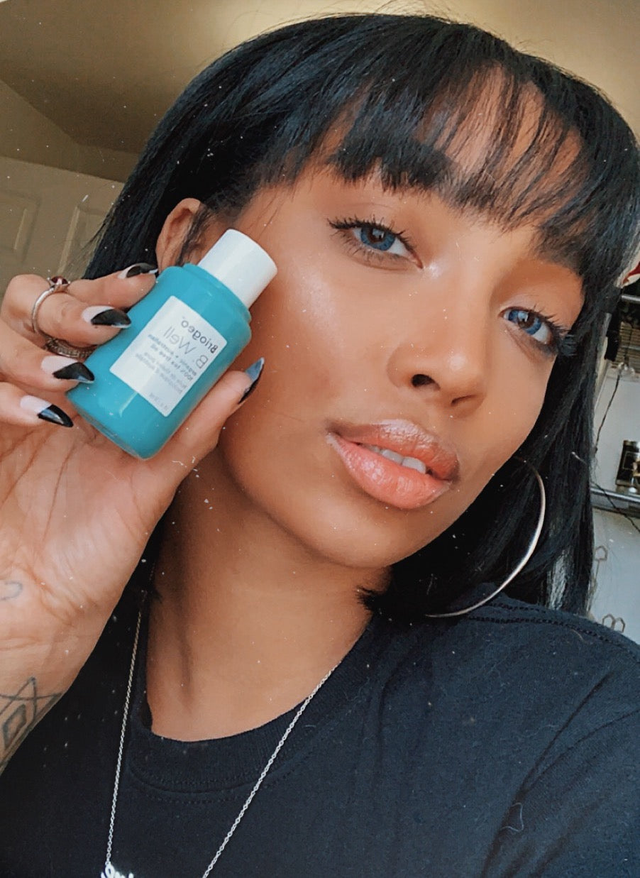 <p>One of my new favorite skincare products is Briogeo 's Tea Tree Oil. Tea tree is known for its antimicrobial properties, which is why I love to use it to combat any blemish I have and to soothe my skin! </p>