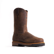 "10"" Wellington– Oil Brown Shipyard - Style #7701 - Silverado Boots"