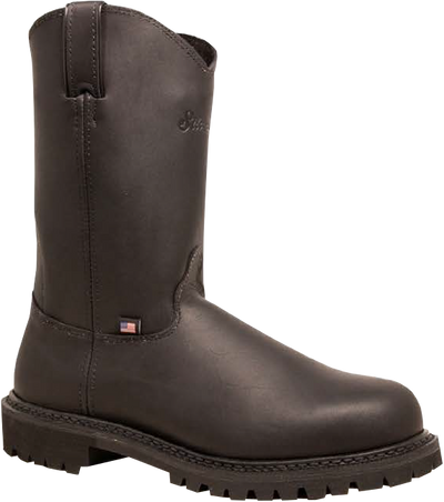 "10"" Wellington– Oil Black - Style #7700 - Silverado Boots"