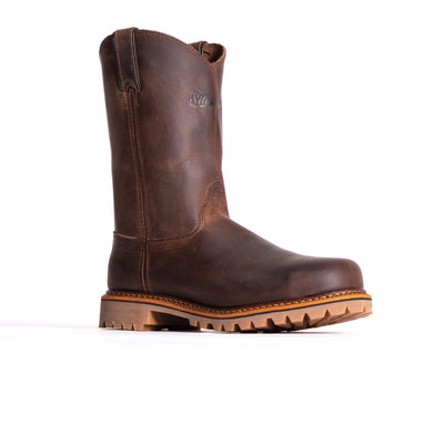 "10"" Wellington– Oil Brown Shipyard - Style #7702 - Silverado Boots"