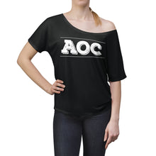 Load image into Gallery viewer, Alexandria Ocasio Cortez- AOC Slouchy Womens T-shirt