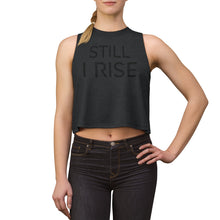 Load image into Gallery viewer, Still I Rise - Maya Angelou Women's Crop top
