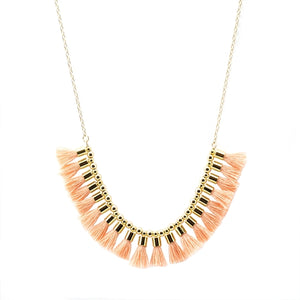 Indie Short Tassel Necklace (more colors)