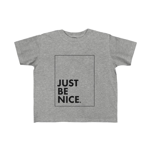 Just Be Nice Kid's Fine Jersey Tee