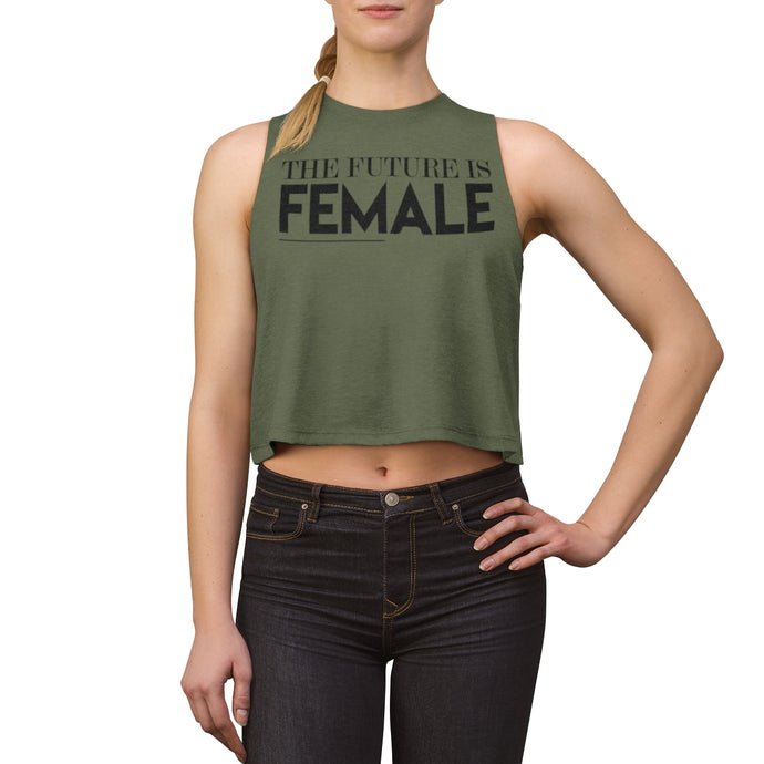The Future is Female Women's Crop top