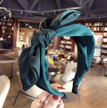 Load image into Gallery viewer, Big Knotted Bow Headband - Womens (more colors)