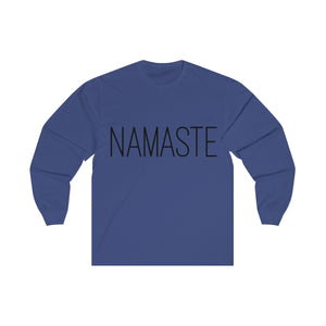 Namaste Yoga Unisex Long Sleeve Tee
