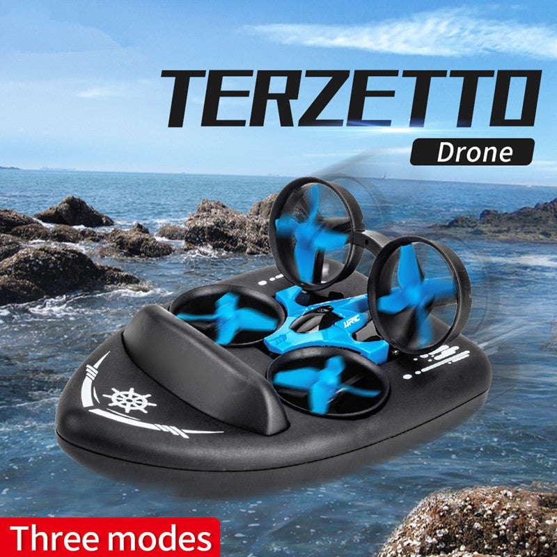 Terzetto™ [Air/Land/Water 3 in 1] RC Quadcopter