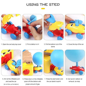EduJoy™ Inflatable Balloon Car Racer Kit