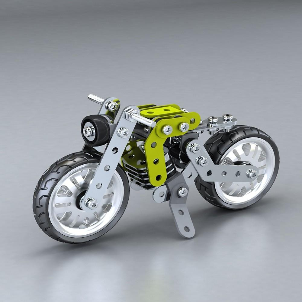 Metalblockz™ Retro Motorcycle (120Pcs)