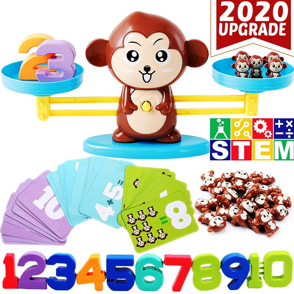 EduJoy™ Math Education Monkey Balance Toy (Age 3+)
