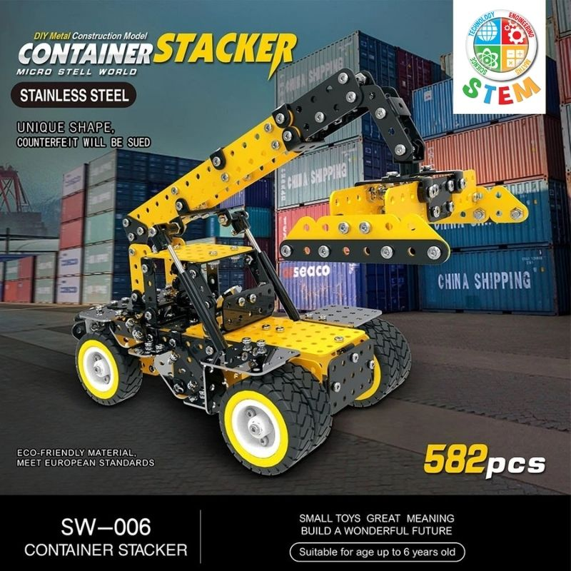 Metalblockz™ Container Stacker (582Pcs)