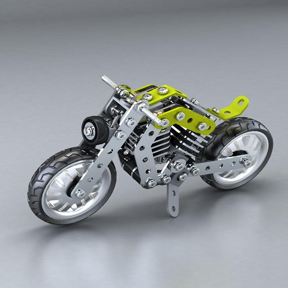 Metalblockz™ Military Motorcycle (158Pcs)