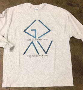 God is Greater Ash Long Sleeve