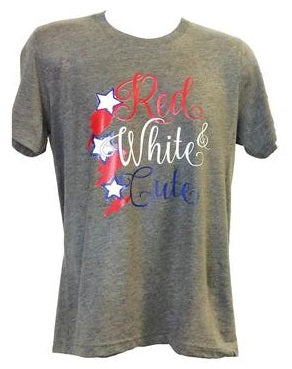 Red White and Cute Adult