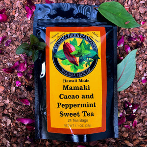 Mamaki Cacao and Peppermint Sweet Tea
