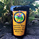 Japanese Black Bergamot Lavender Sweet Tea