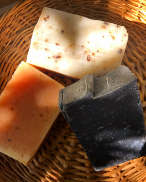 Cedar Orange Charcoal Soap Bar