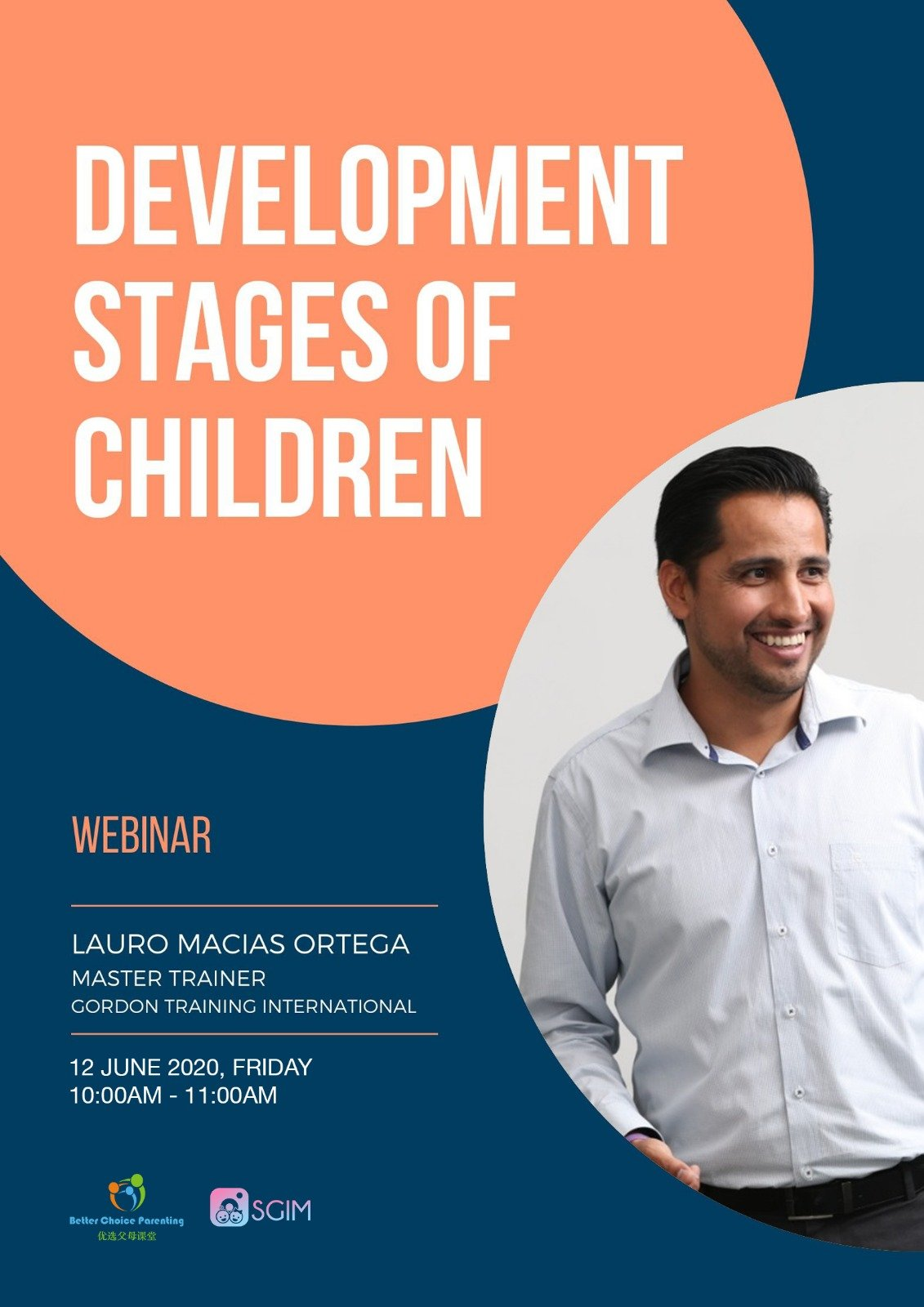 12 June, Fri, 10-11am TOPIC: Development Stages of Children