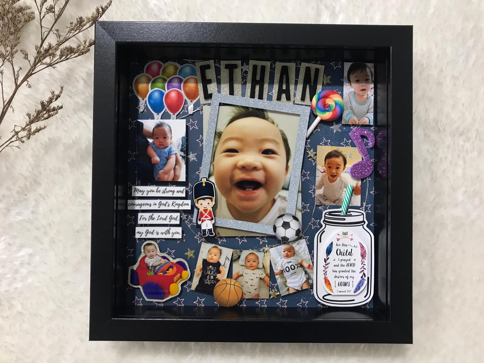 Personalised Hand-crafted 3D Photo Memento