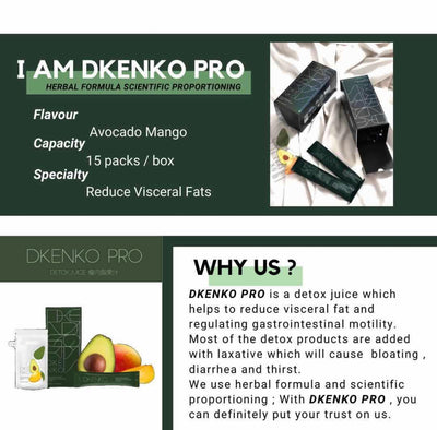 Dkenko (For Detox and Slimming) - Prices include $5 delivery