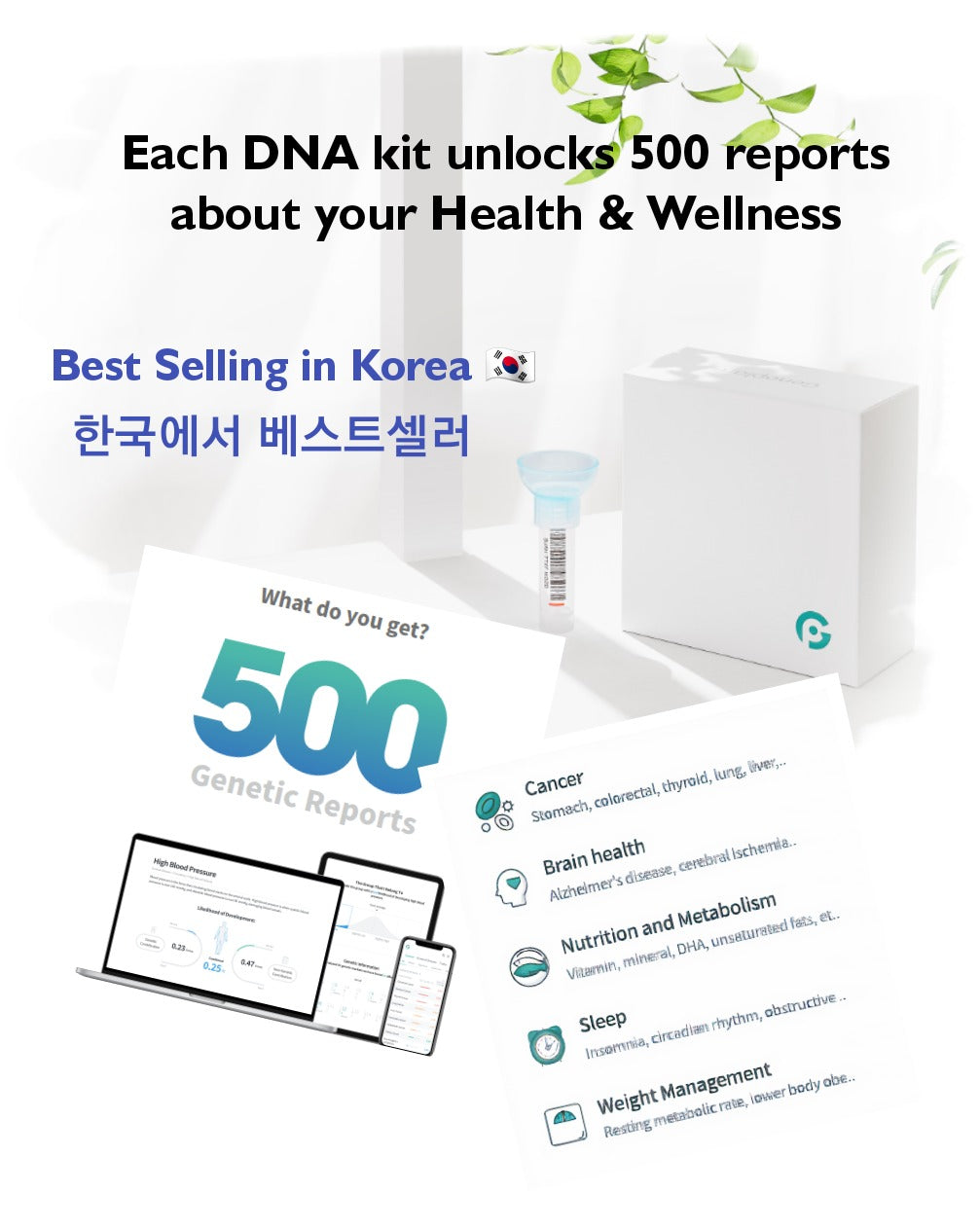 Korea Best Selling DNA Kit