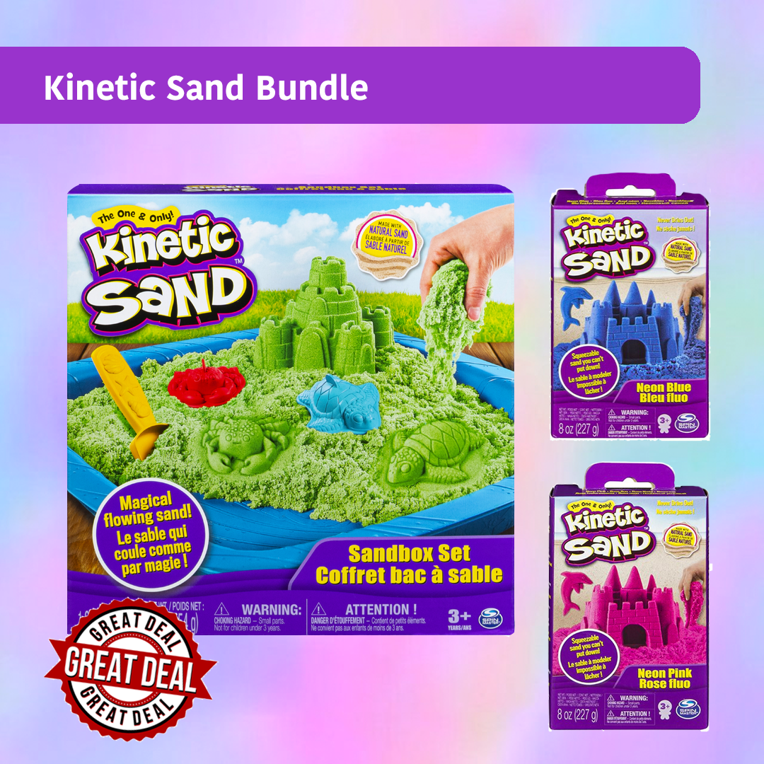 Kinetic Sand Bundles for you!