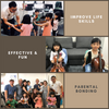 Parental-Kids Bonding with Violin & Cello Class (includes FREE Cello/Violin rental !)