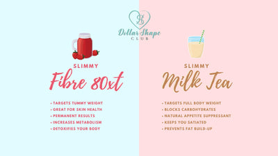 Slimmy Milk Tea & Slimmy Detox Fibre!
