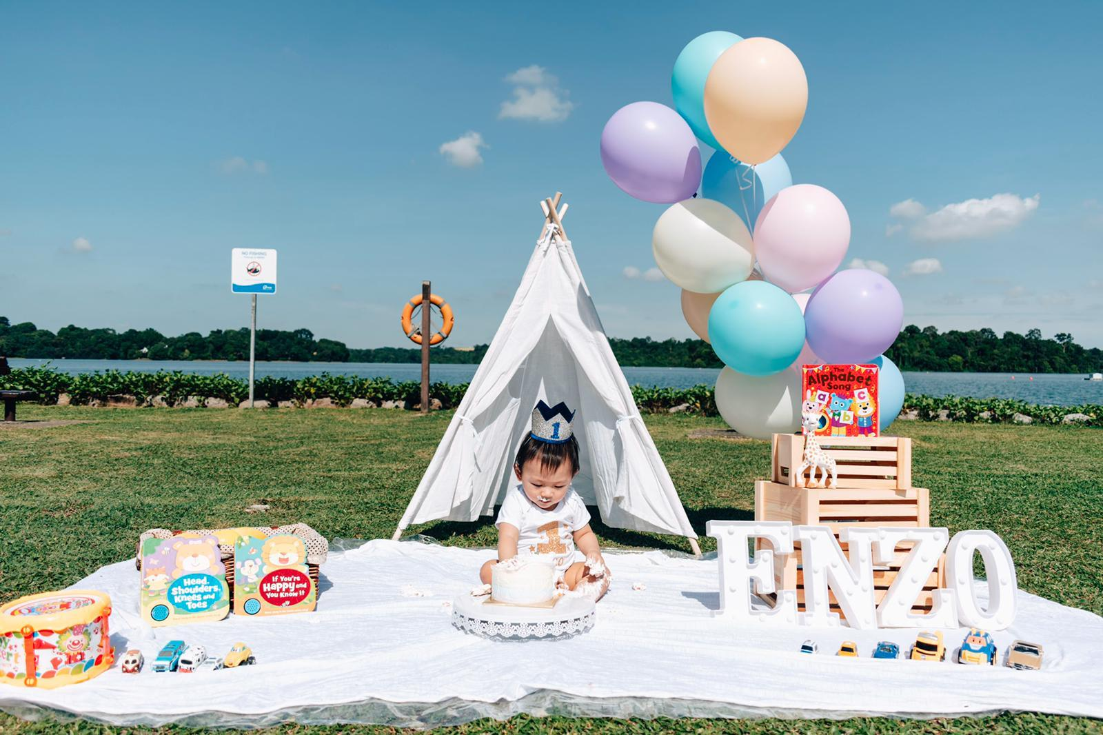 Memorable Cake Smash Photography (Outdoor/ Home) -  90mins Session