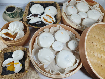 Pillowy Steamed Buns - Taste of Happiness (Free Delivery!)