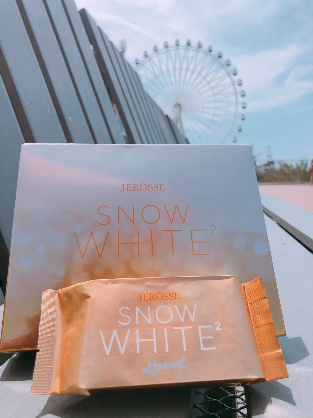 Snow White for Flawless Skin (Hyaluronic Acid Supplements )