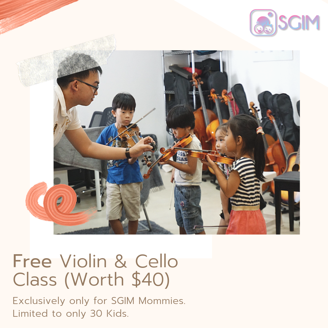 Violin & Cello Trial Music Class exclusive to SGIM! (Free!)