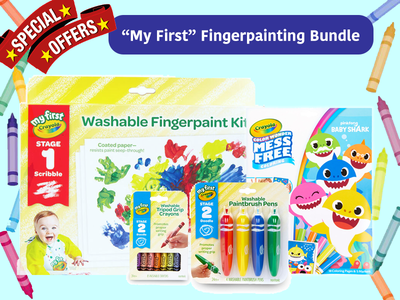 Crayola Bundles for your kids and yourselves! (Free Delivery!)