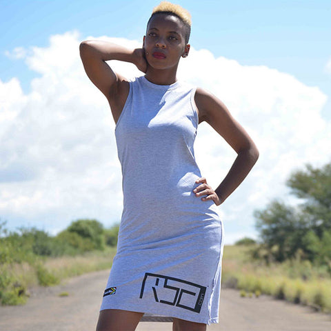 Sports LDB Dress - Grey